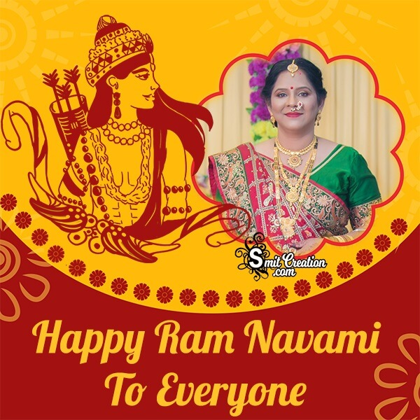 Happy Ram Navami Whatsapp Photo Frame