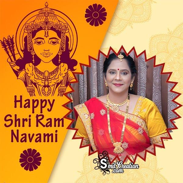 Happy Shri Ram Navami Photo Frame