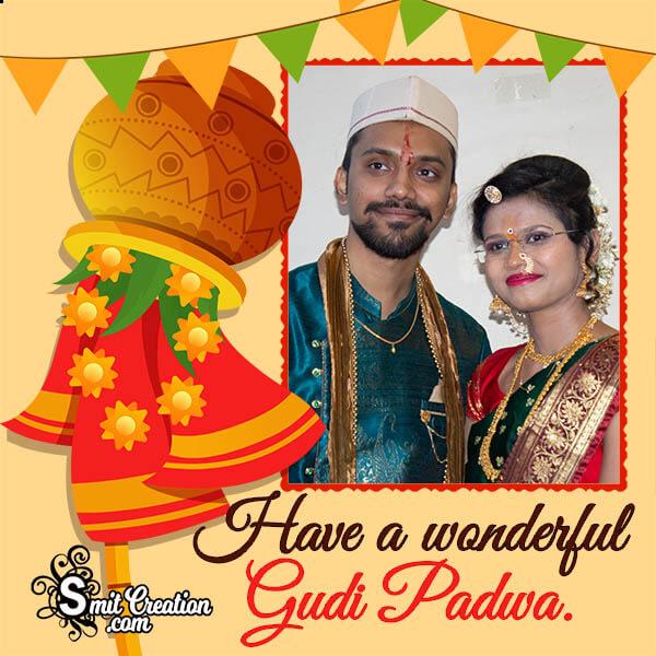 Wonderful Gudi Padwa Photo Frame