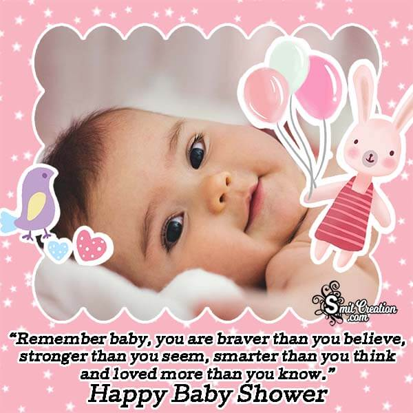 Baby Shower Message Photo Frame