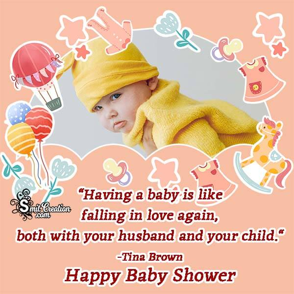 Baby Shower Quote Photo Frame