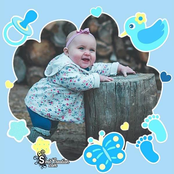 Cute Baby Photo Frame