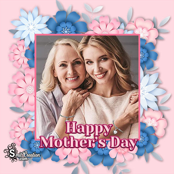 Floral Mothers Day Photo Frame