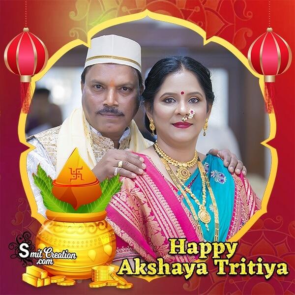 Happy Akshaya Tritiya Photo Frame