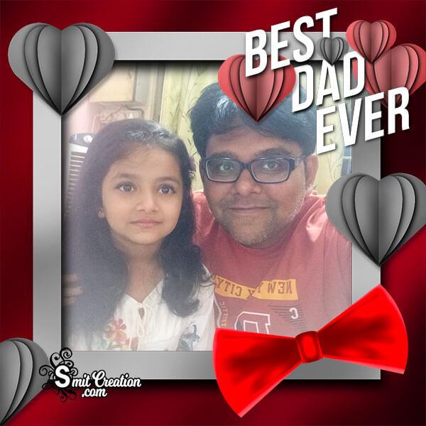 Best Dad Photo Frame