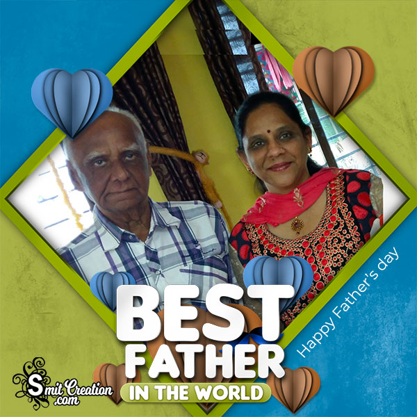 Best Father In The World Photo Frame