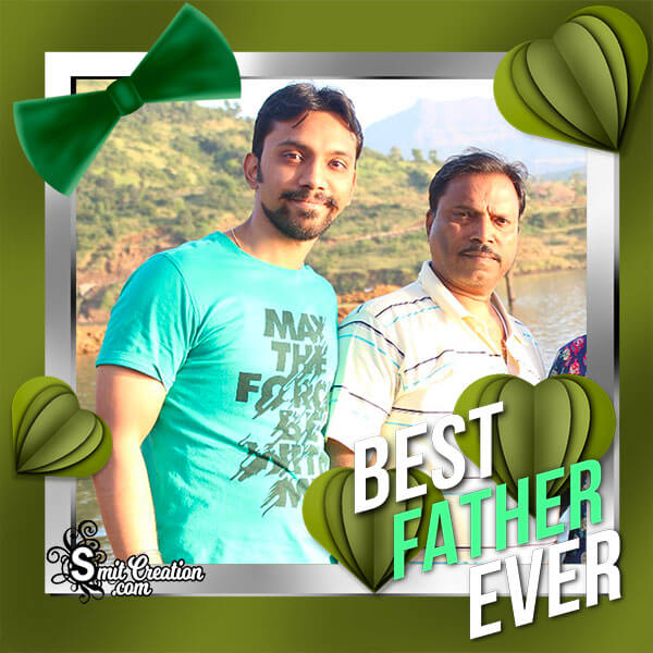 Best Father Photo Frame