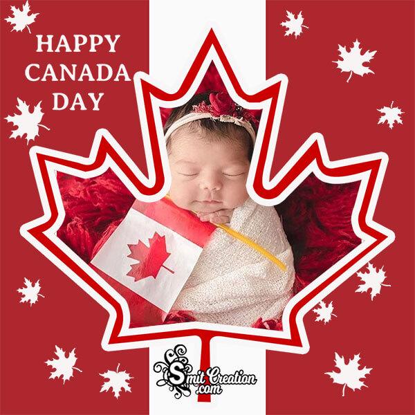 Canada Day Mapel Leaf Photo Frame