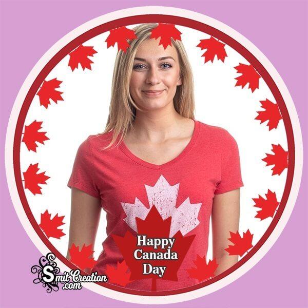 Canada Day Photo Frame