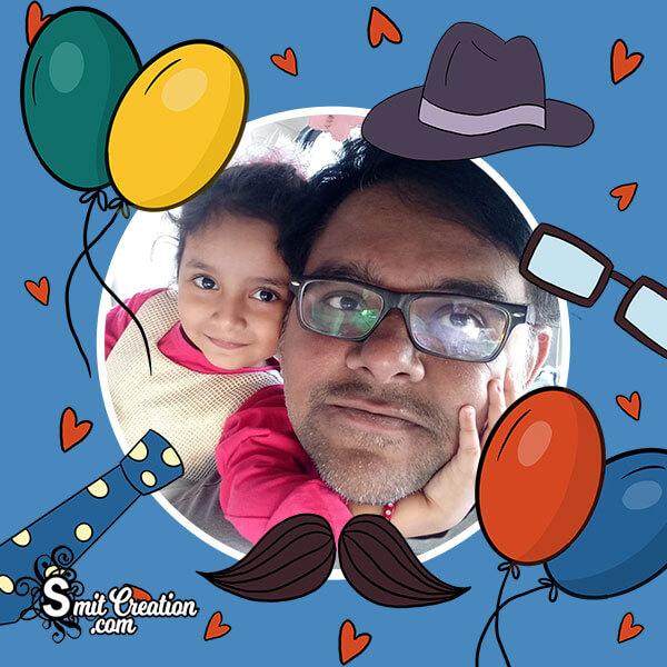 Father's Day Celebration Photo Frame