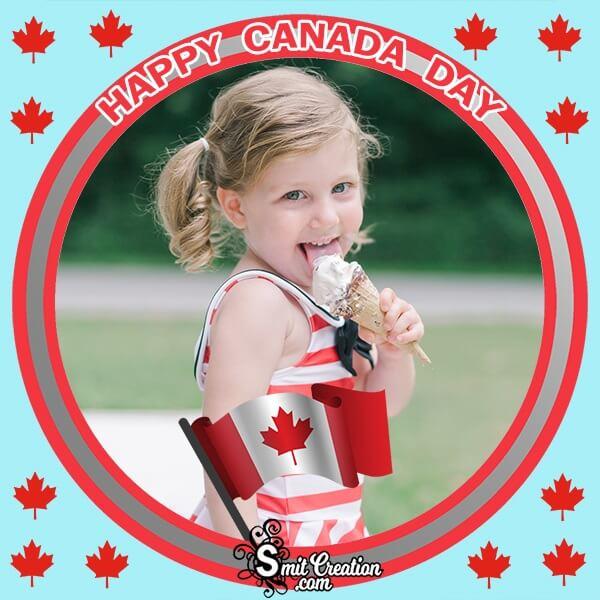 Happy Canada Day Photo Frame