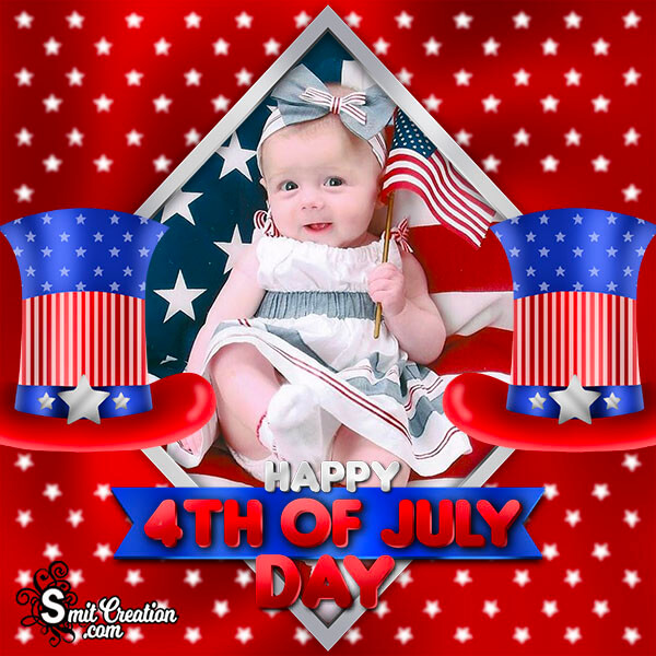 Happy 4th Of July Day Photo Frame