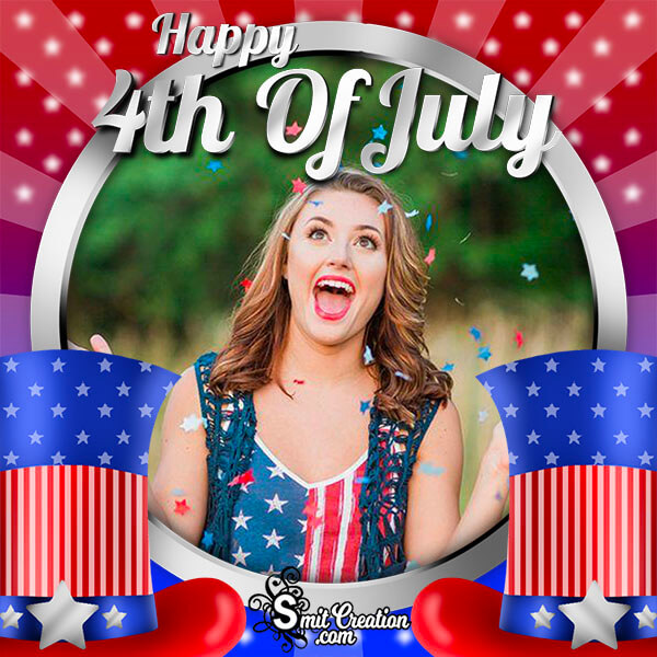 Happy 4th Of July Photo Frame