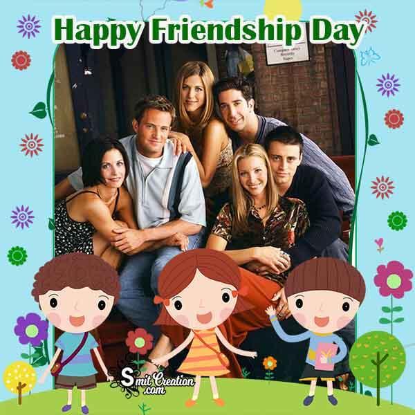 Happy Friendship Day Photo Frame