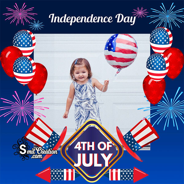 Independence Day 4th Of July Photo Frame