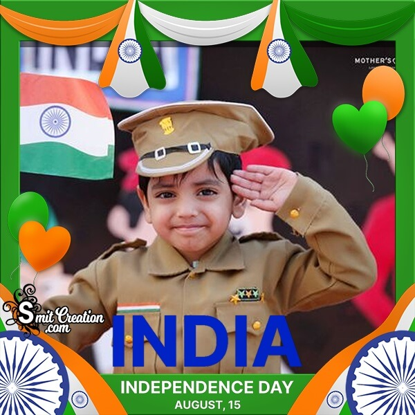Independence Day Of India Photo Frame
