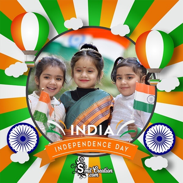 India Independence Day Photo Frame