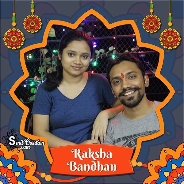 Raksha Bandhan Decoration Photo Frame
