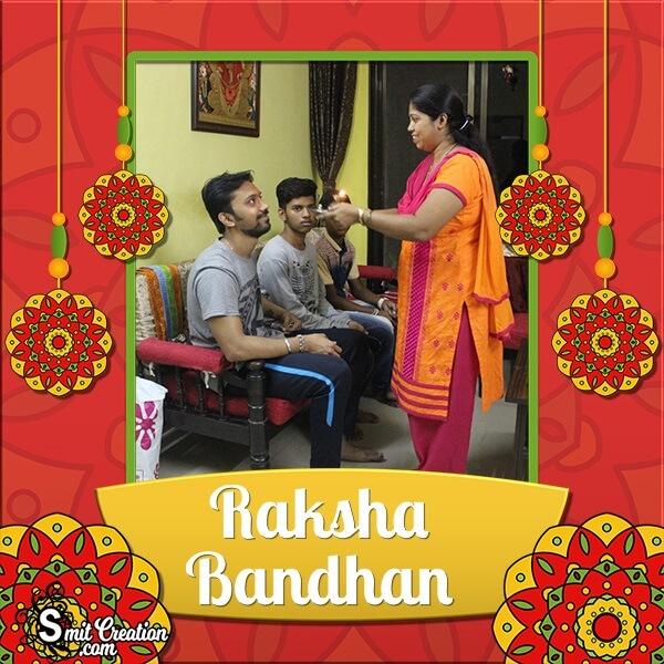 Raksha Bandhan Festival Photo Frame