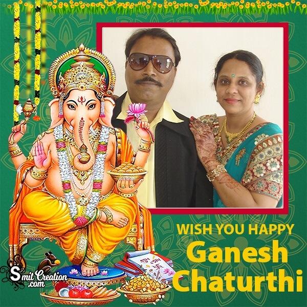 Ganesh Chaturthi Wish Photo Frame