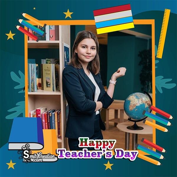 Happy Teachers Day Profile Photo Frame