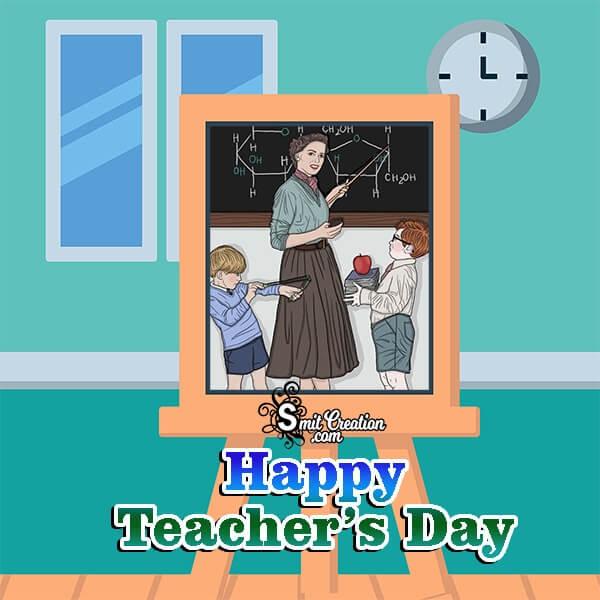 Teachers Day Board Photo Frame