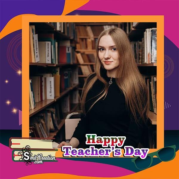 Teachers Day Profile Photo Frame