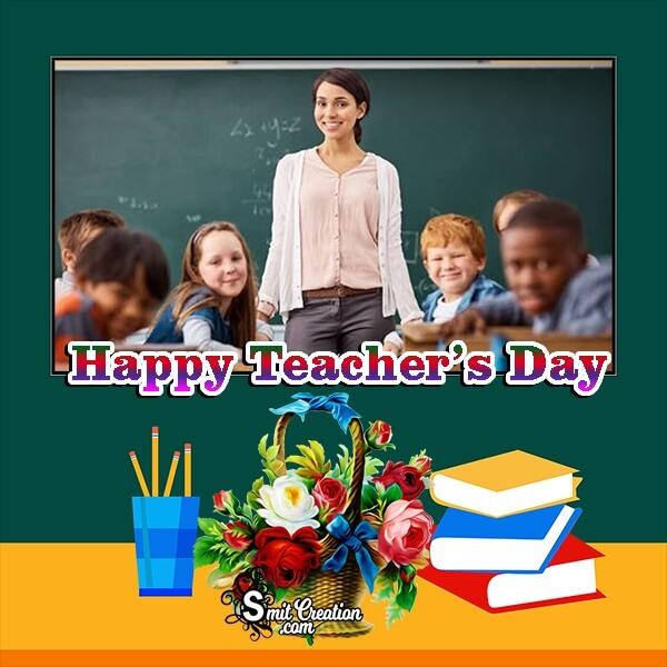 Teachers Day Whatsapp Photo Frame