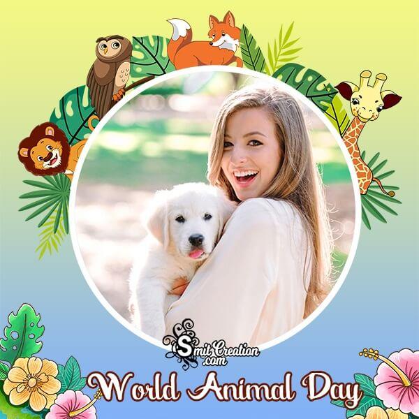 Animal Day Photo Frame