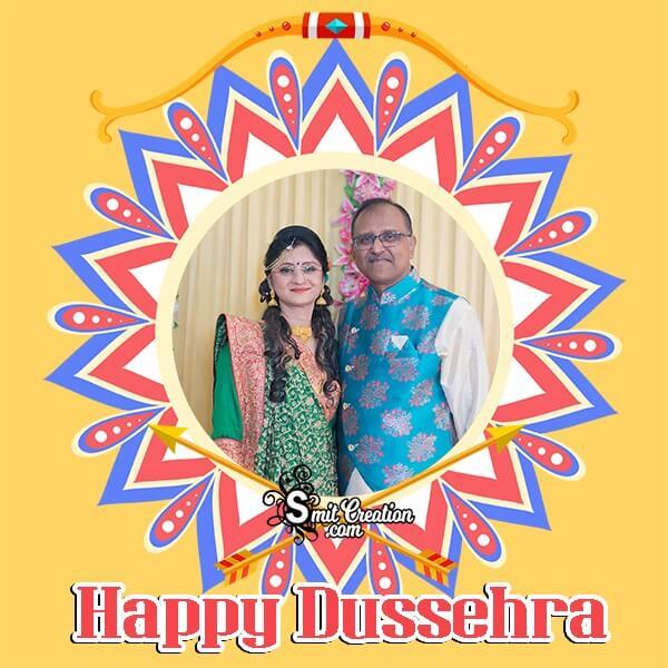 Happy Dussehra Dp Photo Frame