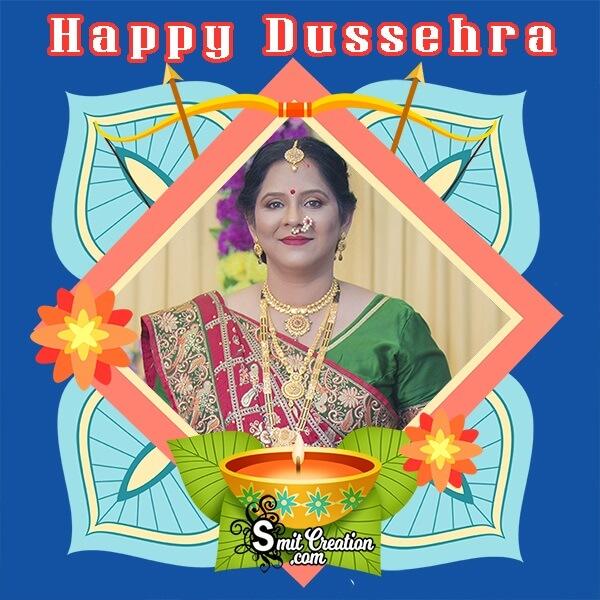 Happy Dussehra Photo Frame