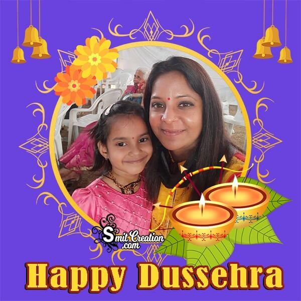 Happy Dussehra Profile Photo Frame