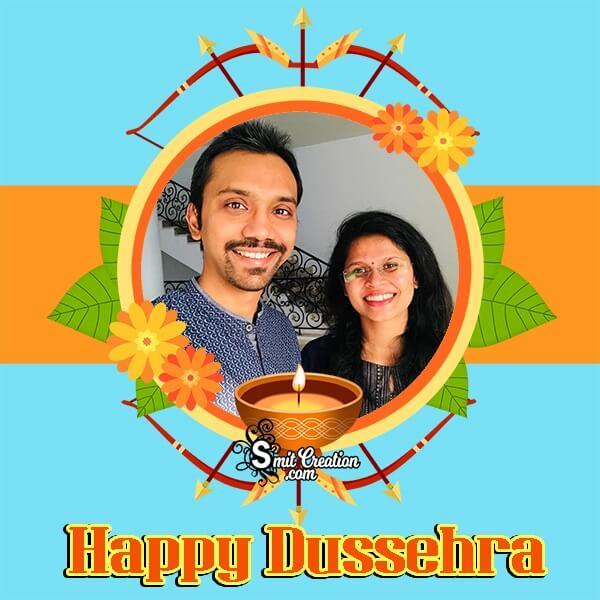 Happy Dussehra Whatsapp Photo Frame