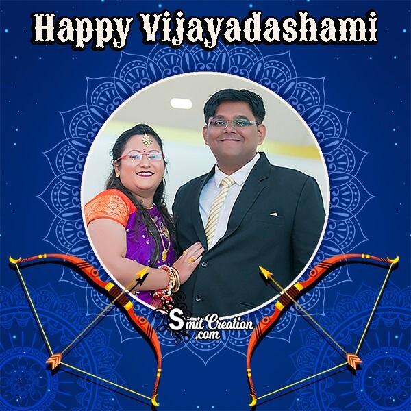 Happy Vijayadashami Photo Frame