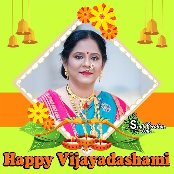 Happy Vijayadashami Profile Photo Frame