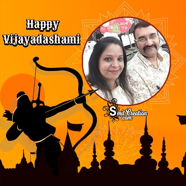 Happy Vijayadashami Whatsapp Photo Frame