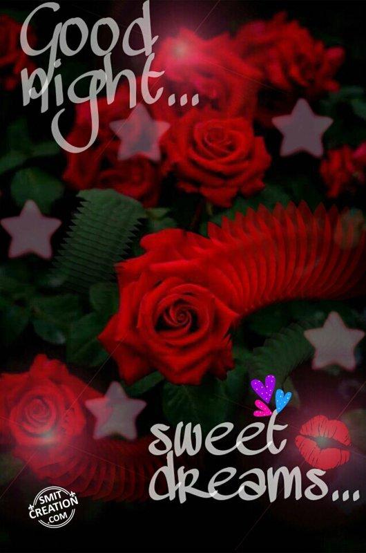 Good night…Sweet dreams…