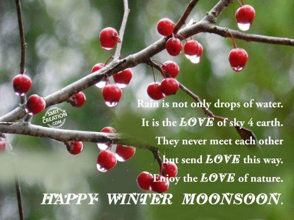 HAPPY WINTER MONSOON