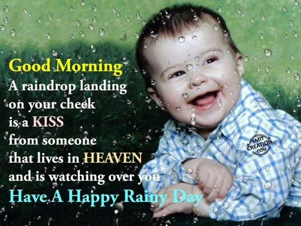 Good Morning Rainy Images: Have A Happy Rainy Day