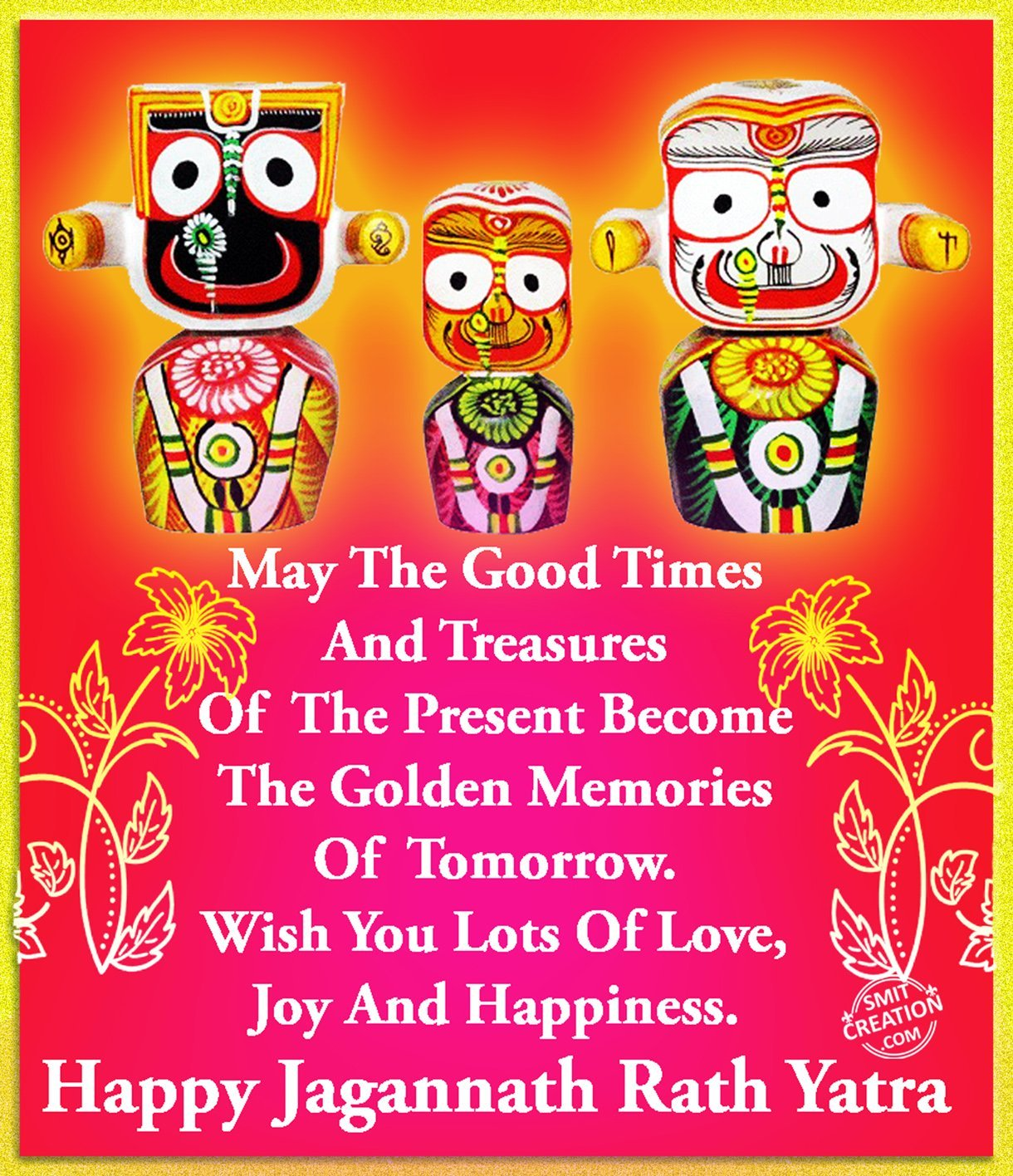 New 2016 Latest Top Happy Shri Jagannath Ji Puri Rath Yatra Best Wishes for free download