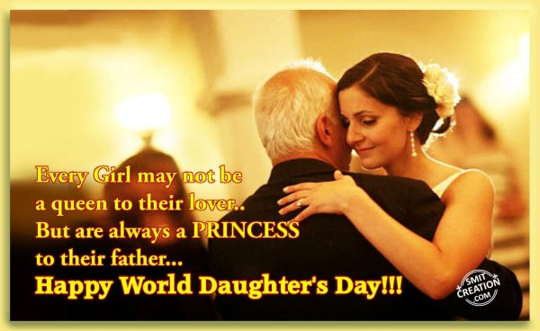 Happy World Daughter's Day!!!