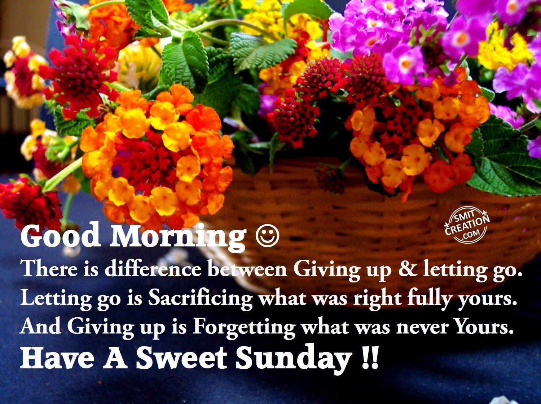 Good Morning Have A Sweet Sunday Smitcreationcom