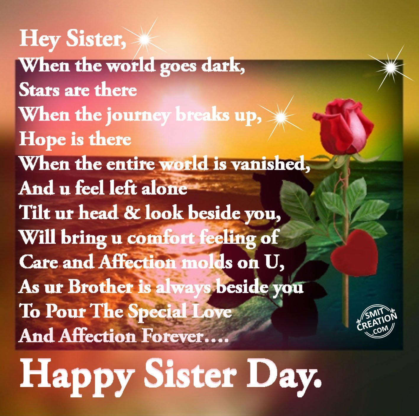 Happy Sister And Brothers Day: Sisters Day Pictures And Graphics