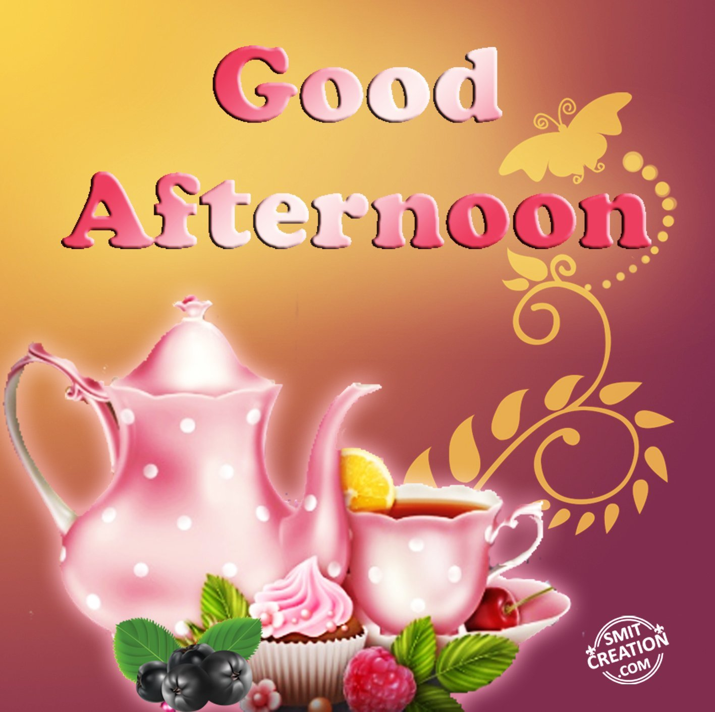 Good Afternoon Tea Pictures And Graphics Smitcreation