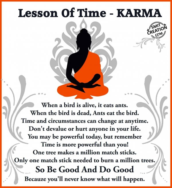 Lesson Of Time – KARMA