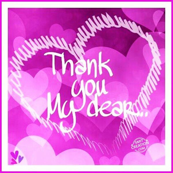 Thank you My dear…