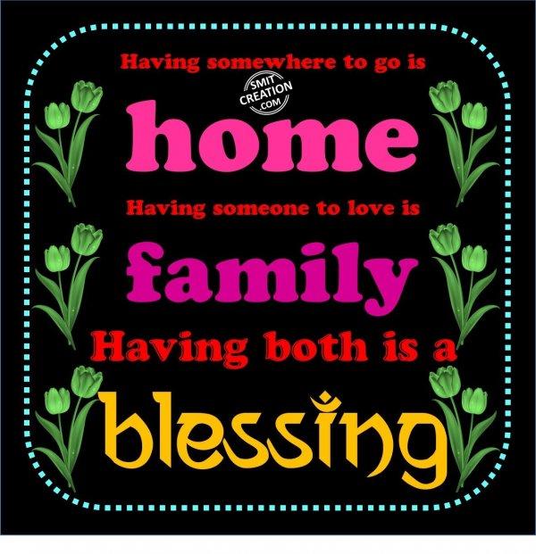 Family...Blessing