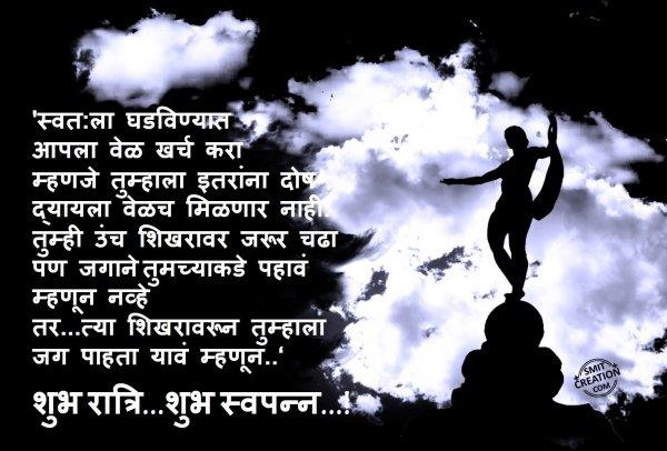 Shubh Ratri…Shubh Swapn…!