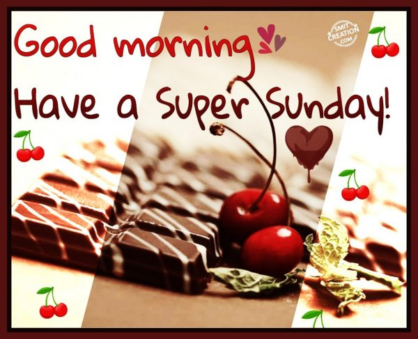 Have a Super Sunday!