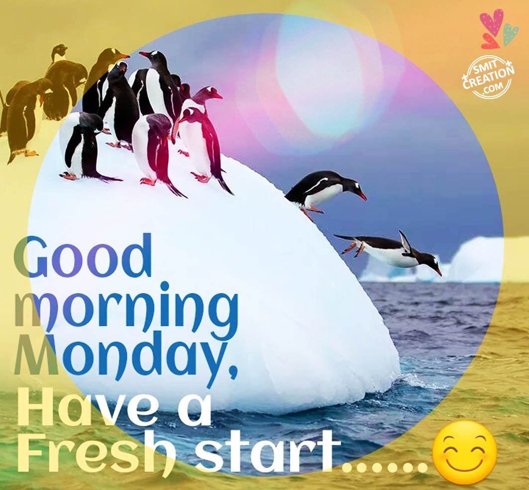 Good Morning Monday - SmitCreation.com